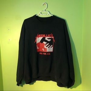 Metallica Kill Em All Sweatshirt 🎸